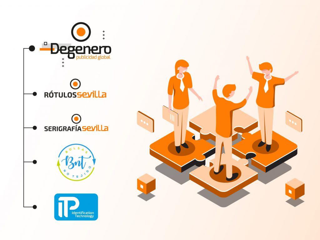 Grupo Degenero - Impresoras tarjetas plásticas y control de accesos