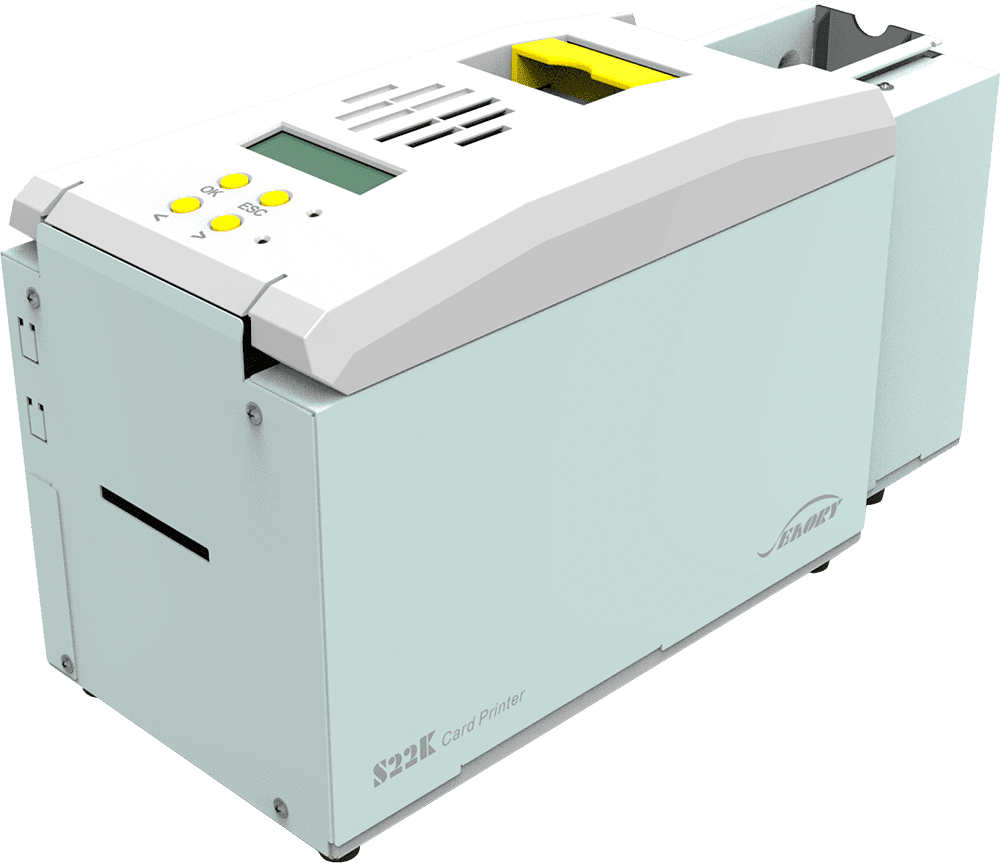 Impresoras tarjetas plásticas y control de accesos - Kiosk S22K